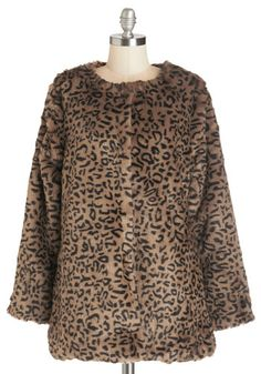 Prowl Factor Jacket. Glamorize your night-out look by slipping into this leopard-printed jacket! #tan #modcloth