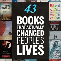 43 Life-Changing Books You Need To Read