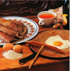 recipe for traditional buckwheat crepes...