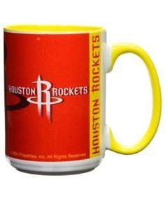 Houston Rockets 15oz Super Fan Inner Color Mug - Red