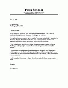 how to write great cover letters