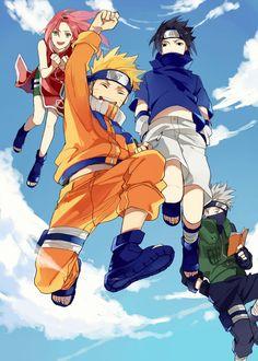 Naruto-Team 7                                                       …