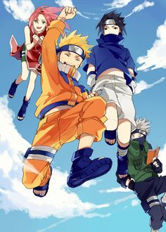 Naruto-Team 7 WOW Naruto is over now i dont know what to do with my life now im over!!!!!! HELP i need more naruto but man its been since forever 1999-2014 I WILL ALWAYS LOVE NARUTO!!!!! NARUHINA FOREVER .___. !!!!!!!! :)