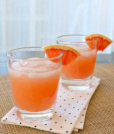 APPLE A DAY: Grapefruit Margaritas