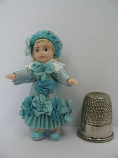 Deluxe JumeauStyle Toy Doll's Doll  1/12th by TowerHouseDolls, £35.00