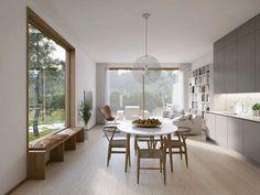 Eldsflamman Twin Houses on Behance