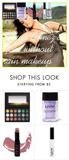 """""""Selena Gomez a Year without rain makeup"""" by oroartye-1 on Polyvore featuring beauty, Forum, BHCosmetics, NYX, L.A. Girl and Essie"""