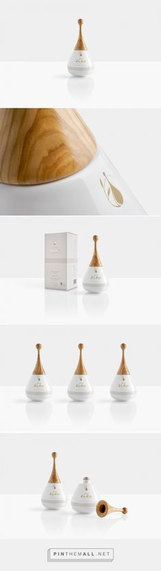 Eteo - Drops Of Blessing olive oil packaging design by Aristotelis Barakos (Greece) - http://www.packagingoftheworld.com/2016/04/eteo-drops-of-blessing.html