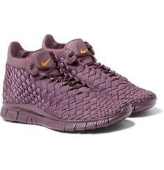 Nike - Free Inneva Woven High-Top Sneakers