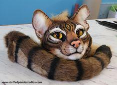 Tabby Cats By: Stuffed Panda Studios - Cat Fursuit, Furry Suit, Funny Cat Photos, Mascot Design, Furry Drawing, Anthro Furry, Pet Costumes, Baby Animals, Diy