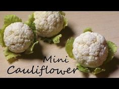 how to: miniature cauliflower