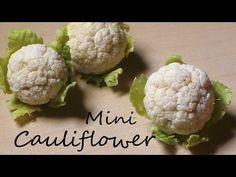 EASY Miniature Cauliflower - Polymer Clay Tutorial - YouTube