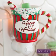 Happy Holiday Nightlight | Scentsy Warmer