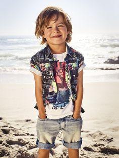 Cooler Sommerlook für Jungs. We Fashion