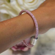 Bracelet Dalia Reflex Silicone Rose - Bracelet en partenariat avec Rose Magazine pour Octobre Rose / Dalia Joaillerie #MyDalia