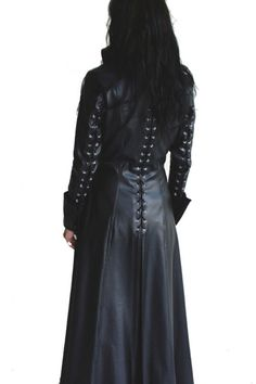 Steampunk Coat PU-Faux-Leather Civil War Domina Vampire S to 3XL (EU) selectable | eBay