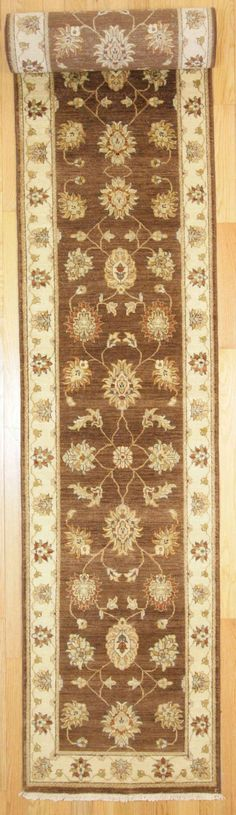 2'6 X 19' Traditional Hand Knotted Rug