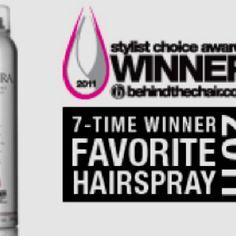 Best. Hairspray. Ever.  Kenra.com