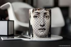 ❤ Home ] Bougie parfumée « Burlesque » by Fornasetti Official shopping chez Damonte & Lacarrieu ❤ #damonteelacarrieu #sainttropez #luxe #design #fornasetti #interior #decoration #designstore #MonicaDamonte #decorating #candle #madecoamoi #bougie #ceramic