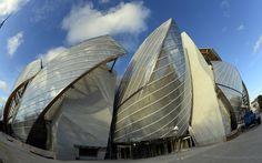 Nuevo edificio de la Fundación Louis Vuitton para el Centro de arte moderno y contemporáneo en París, por el arquitecto Frank Gehry / AFP PH...