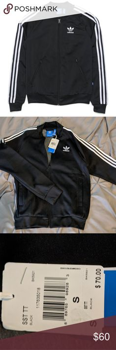 ❕🖤 Adidas SST Track Jacket 🖤❕ Adidas track jacket. Super trendy. NWT. AMAZING DEAL❕❕❕Don't love the price? Make an offer 😊 adidas Tops Sweatshirts & Hoodies