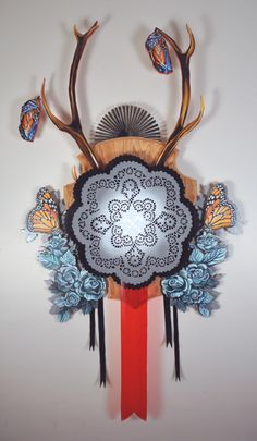 The Mixed Media Art of Hilary White Hilary White was raised in Gainesville, Florida, and later spent a large part of her artistic career in Philadelphia. She received a portfolio scholarship to attend the Savannah College of Art and Design and. Gainesville Florida, Mixed Media Collage, Philadelphia, Career, Wreaths, Savannah, Art Work, Artist, Connect