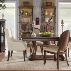 Greyson Living Gillian Pedestal Wood Dining Set By Greyson Living |  Pedestal, Pedestal Dining Table And Woods