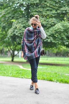 via Stylista  Your must-have accessory for the fall? The blanket scarf. It's cozy and  chic and there's so many ways to wear it. You can go with the more  traditional look by looping it around your neck a few times, try it as a  wrap, or even belt it! We've got some perfect plaid options in the shop  to choose from, all under $25!I've rounded up just a few of my favorite  ways to wear it below:  via Style and Cheek via Gurl via Atlantic Pacific via We Wore What via  Gurl via Gurl via…