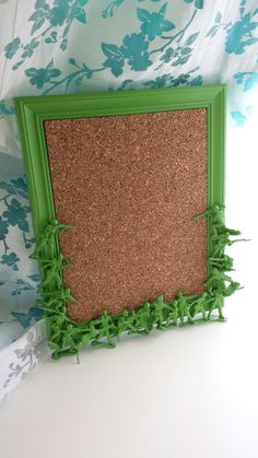 green army men magnetic bulletin board by CheeseCrafty on Etsy, $23.00