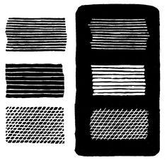 §2. Техники высокой печати