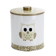 OWL TIN - ALLEGRO OWL Pinned by www.myowlbarn.com