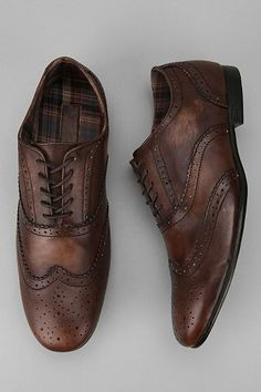 Bed Stu Ellington Wingtip Oxford Every man's got to have a pair of nice  brown shoes