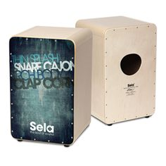 Sela CaSela Vintage - our new cajon series! If you appreciate handbuild quality, great design and great sound, the CaSela Vintage is the right cajon for you. Choose from 4 different colours and start to groove!
