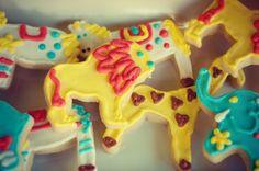 Circus Birthday Cookies