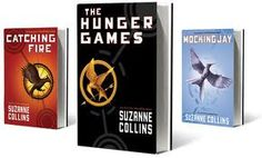 The hunger games book series. One of the best trilogies and overall books I have read....thanks to the amazing girl who convinced me to listen.