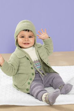 Dagens gratisoppskrift: Elias babysett   Strikkeoppskrift.com Jumpers, Kids And Parenting, Winter Hats, Crochet Hats, Knitting, Pattern, Fashion, Threading, Knitting Hats