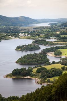 Derwent Water - Lake District, Cumbria, UK