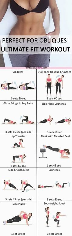8 beste afbeeldingen over Ab Motivatie Exercise workouts