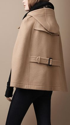 Jumpers & Cardigans for Women | Burberry | Cape jacket and Wool cape