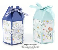 Stampin' Up! #1 Demonstrator Pootles – Hexagonal Box Tutorial Using Delightful Daisy Delight I love the Delightful Daisy suite and decided that I could help bring Spring along with a fl…