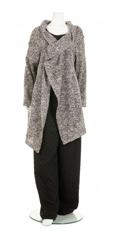 Chalona Wrap Over Grey Marl Cardigan - Chalona from idaretobe.com UK