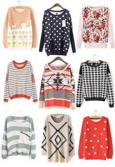Hearts stripes zig zag Mystery pattern Sweater for men women teens, vintage soft winter sweater, fluffy winter jumper, college dorm sweater