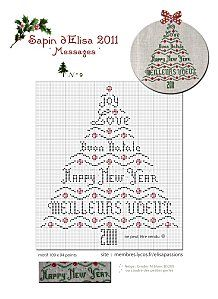 French Christmas Stitching