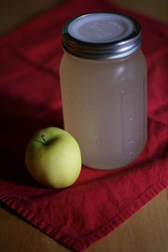 Making you own apple pectin (apple jelly stock) for later use in jams and jellies that you need to add pectin to.