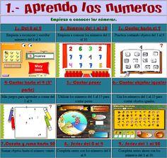 Recursos TIC per treballar les matemàtiques a Educació Infantil | Educació i les TIC