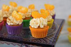 Fanta Cupcakes / fruchtig / Mini Cupcakes / kleine Törtchen