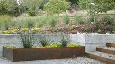 Image result for modern retaining wall design