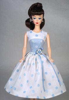 Loves Me Vintage Barbie Doll Dress Reproduction Barbie Clothes | eBay
