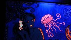 My Art. Glow in the Dark. Black Light My Arte con luz negra https://www.facebook.com/pages/YOLARTE/121709524525082?ref=hl