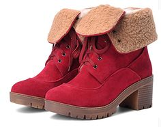 Women's Lace-up Waterproof Two Wear Snow Boot -- See this great product.